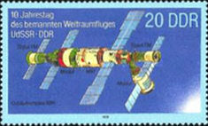 [The 10th Anniversary of the DDR-USSR Co-operation of Space Travel, Typ DBB]