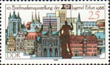 [The 10th Youth Stamp Exhibition, Typ DBE]
