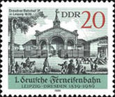 [The 50th Anniversary of the Railway Leipzig-Dresden, Typ DDN]
