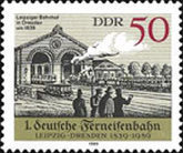 [The 50th Anniversary of the Railway Leipzig-Dresden, Typ DDO]