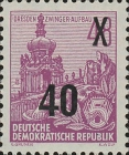 [Definitives - Five-Year Plan Typography Printing Stamps Surcharged - Glossy Letterpress Overprint, Typ DE2]