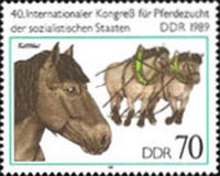 [Horses - The 40th International Horse Breeders of Socialist Countries Congress, Typ DEL]