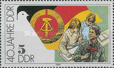 [The 40th Anniversary of DDR, Typ DFB]