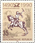 [The 500th Anniversary of the Postal Service, Typ DFV]