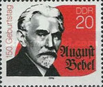 [The 150th Anniversary of the Birth of August Bebel, type DGG]