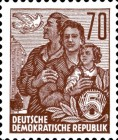 [Definitives - Five-Year Plan  - New Perforation, Typ DH8]