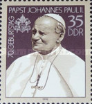 [The 70th Anniversary of the Birth of Pope Johannes Paul II, type DHH]