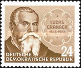[The 400th Anniversary of the Death of Lucas Cranach, Typ DM]