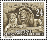 [The 75th Anniversary of the Zoo in Leipzig, Typ DP]