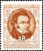 [The 125th Anniversary of the Death of Franz Schubert, Typ DW]