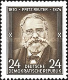 [The 80th Anniversary of the Death of Fritz Reuter, Typ EE]