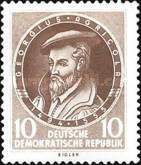 [The 400th Anniversary of the Death of Georgius Agricolas, Typ FW]