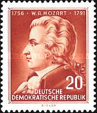 [The 200th Anniversary of the Birth of Wolfgang Amadeus Mozart, Typ GE]