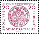 [The 500th Anniversary of Greifswald University, Typ HH]