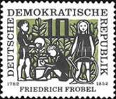 [The 175th Anniversary of the Birth of Friedrich Fröbel, Typ IC]