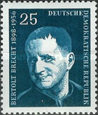 [The 1st Anniversary of the Death of Bert Brecht, Typ IW1]