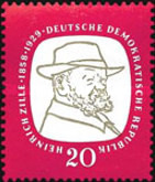 [The 100th Anniversary of the Birth of Heinrich Zille, Typ JQ]