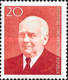 [The 83rd Anniversary of the Birth of State President W. Pieck, Typ LH]