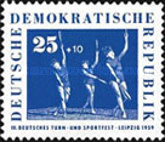[The 3rd Gymnastics and Sports Festival in Leipzig, Typ MP]