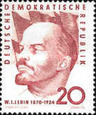 [The 90th Anniversary of the Birth of Lenin, type OP]