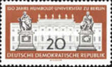 [The 150th Anniversary of the Humboldt University, type PW]