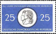 [The 150th Anniversary of the Humboldt University, type PX]