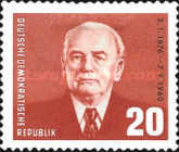 [The 85th Anniversary of the Birth of Wilhelm Pieck, Typ QG]