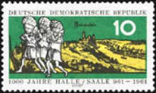 [The 1000th Anniversary of Halle, Typ RG]