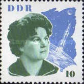 [The Visit of Valentina Tereschkova and Gagarin, type XB]
