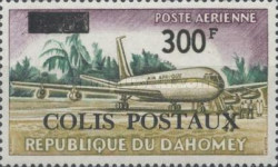 [Dahomey Postage Stamps of 1963 Surcharged and Overprinted