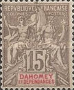 "[Navigation and Commerce - Inscription: ""DAHOMEY ET DÉPENDANCES"", type A1]"