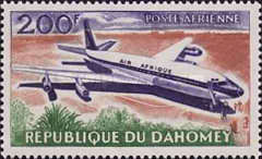 [Airmail - Opening of Cotonou Airport, Typ BZ]