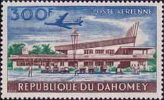 [Airmail - Opening of Cotonou Airport, Typ CA]