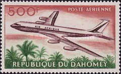 [Airmail - Opening of Cotonou Airport, Typ CB]