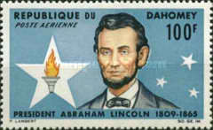 [Airmail - The 100th Anniversary of the Death of Abraham Lincoln, 1803-1865, Typ DA]