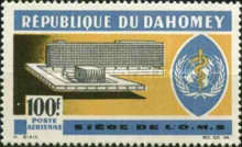 [Airmail - WHO Headquarters, Typ DU]