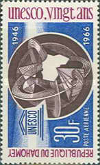 [Airmail - The 20th Anniversary of UNESCO, Typ EH]