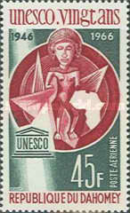 [Airmail - The 20th Anniversary of UNESCO, Typ EI]