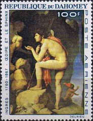 [Airmail - The 100th Anniversary of the Death of Jean Auguste Dominique Ingres, 1780-1867, Typ EY]