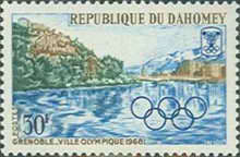 [Winter Olympic Games - Grenoble 1968, France, Typ FM]