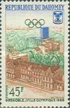 [Winter Olympic Games - Grenoble 1968, France, Typ FN]
