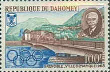 [Winter Olympic Games - Grenoble 1968, France, Typ FO]