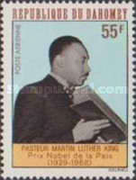 [Airmail - Death of Martin Luther King, 1929-1968, Typ GH]
