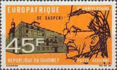 [Airmail - The 5th Anniversary of EUROPAFRIQUE, Typ GK]