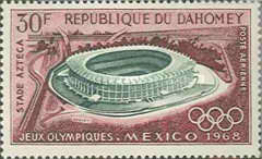 [Airmail - Olympic Games - Mexico City, Typ GU]