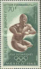 [Airmail - Olympic Games - Mexico City, Typ GW]