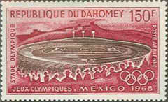 [Airmail - Olympic Games - Mexico City, Typ GX]