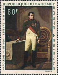 [Airmail - The 200th Anniversary of the Birth of Napoleon, 1756-1830, Typ HN]