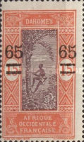 [Issues of 1913, 1917 & Not Issued Stamps Surcharged, Typ I2]