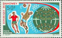 [Airmail - Football World Cup - Mexico, Typ IR]